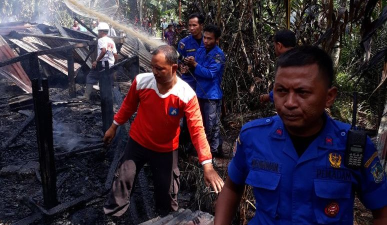 Laporan Musibah Kebakaran Pemukiman