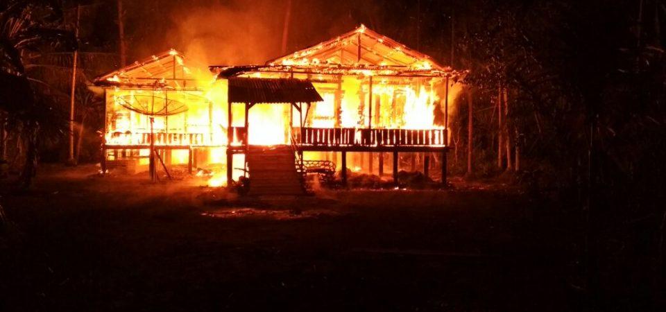Kebakaran Desa Kempas Jaya