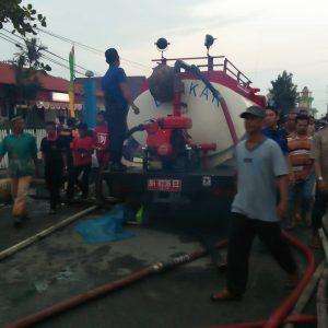 Kebakaran Di Kuala Tungkal