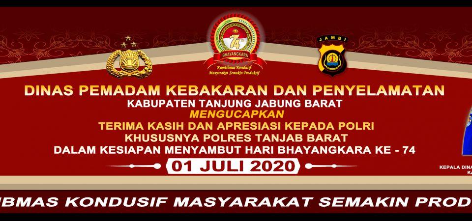 HUT BHAYANGKARA KE-74 ( 1 JULI 2020 )