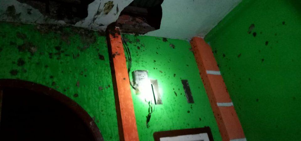 Konsleting Listrik di Jl. Manunggal I RT.10