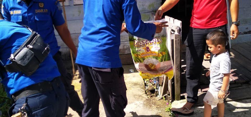 Evakuasi Ular Kobra di Jl. Diponegoro Belakang SDN.17