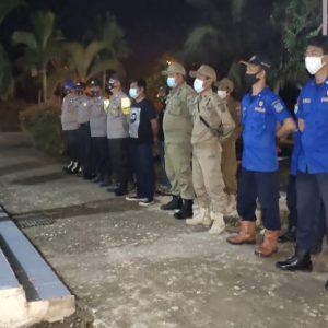 Damkar Teluk Nilau mengikuti Apel Gabungan Persiapan Malam Natal 2020