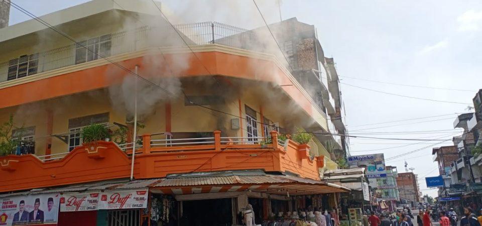 Pra Insiden Kebakaran di Jl. KH. Dewantara (Simp.4 BNI)