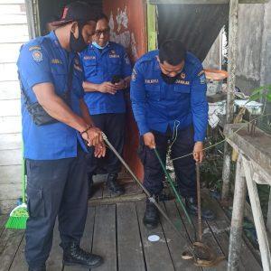 Evaluasi Ular Jl. Manunggal II Rt.16 Kel. Tungkal II