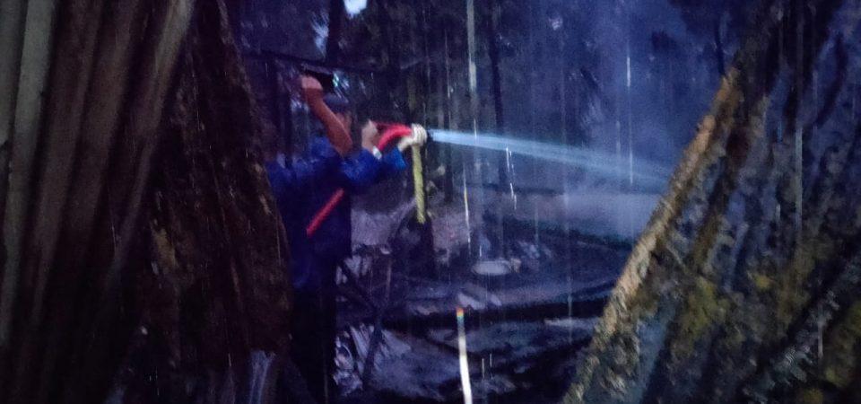 Insiden Kebakaran di Renah Mendaluh Desa Sungai Rotan