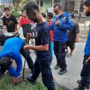Evakuasi Biawak di Jl. Andalas Rt. 12 Kel. Tungkal IV Kota